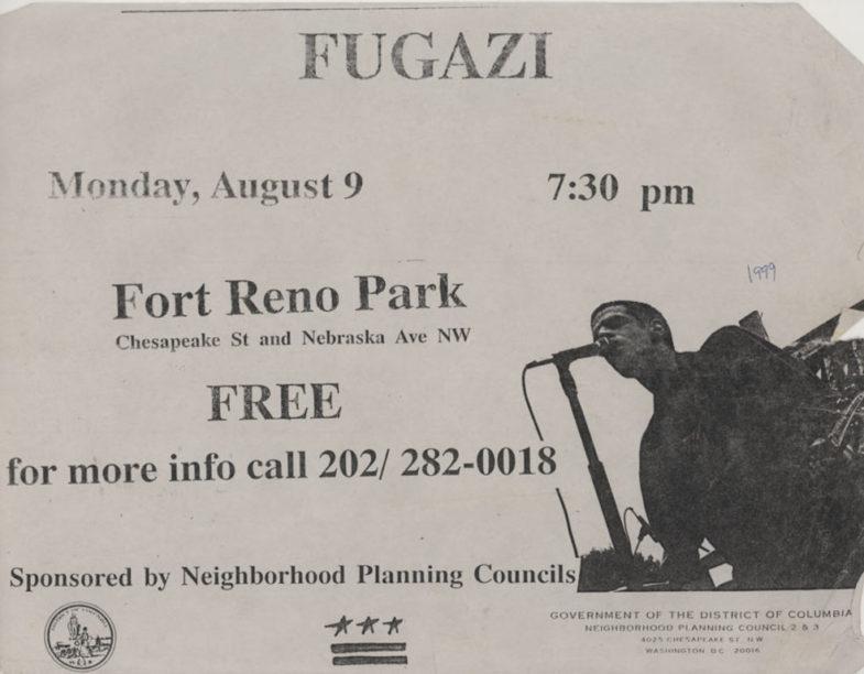 Fugazi @ Washington DC 8-9-93