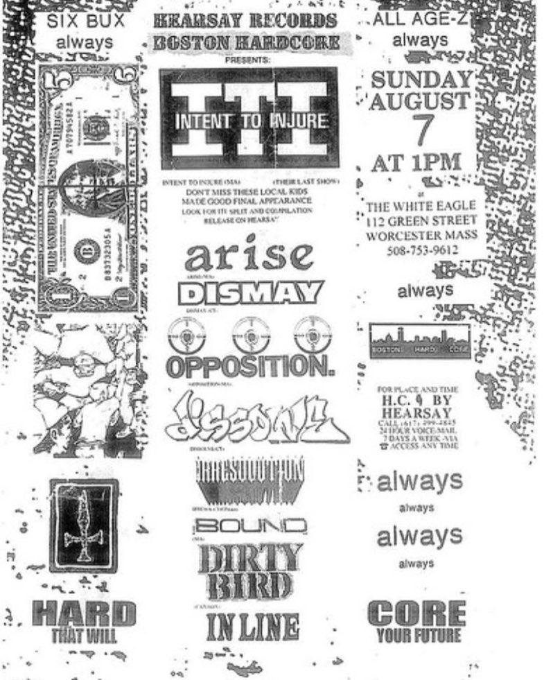 Huge MA Show 8-7-93