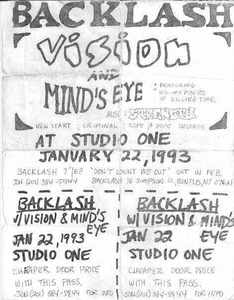 Backlash-Vision-Mind's Eye-Strength 691 @ Newark NJ1-22-93