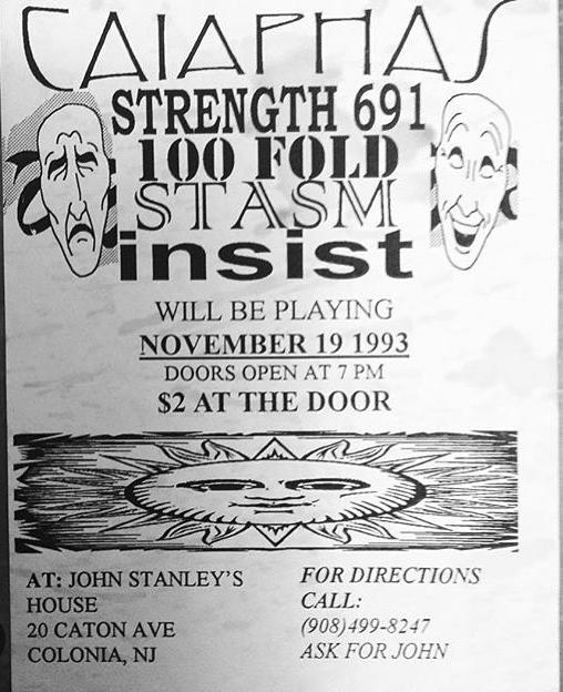 Strength 691-100 Fold-Stasm-Insist @ Colonia NJ 11-19-93