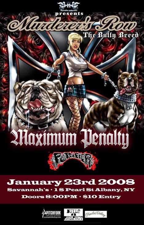 Maximum Penalty @ Albany NY 1-23-09
