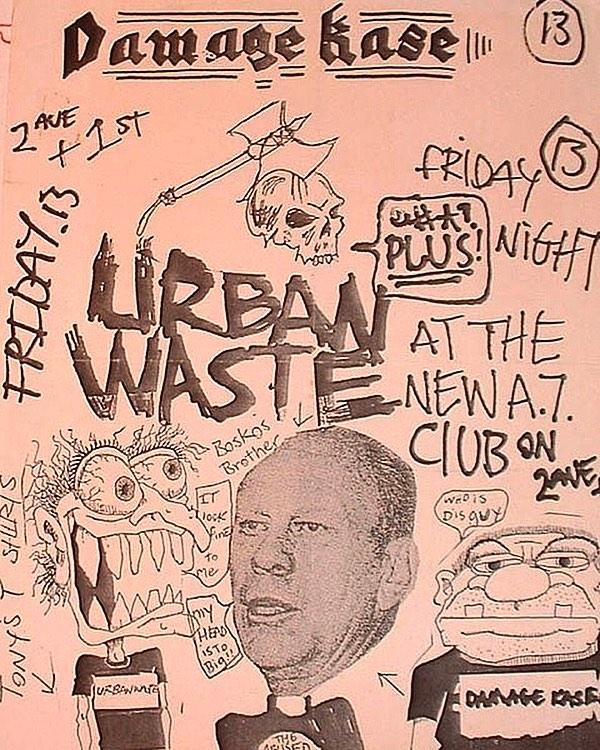 Urban Waste @ New York City NY