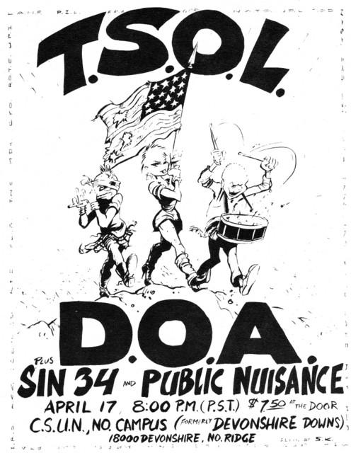 TSOL-DOA-Sin 34-Public Nuisance @ North Ridge CA 4-17-UNKNOWN YEAR