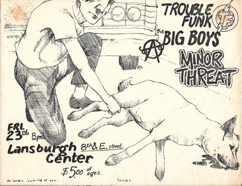 Trouble Funk-Big Boys-Minor Threat @ Washington DC 2-23-UNKNOWN YEAR