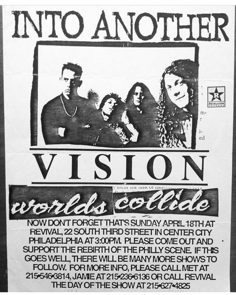 Into Another-Vision-Worlds Collide @ Philadelphia PA 4-18-93