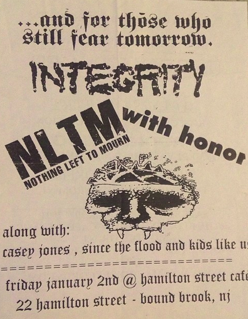Integrity-Nothing Left To Mourn-With Honor-Casey Jones-Since The Flood-Kids Like Us @ Bound Brook NJ 1-2-04
