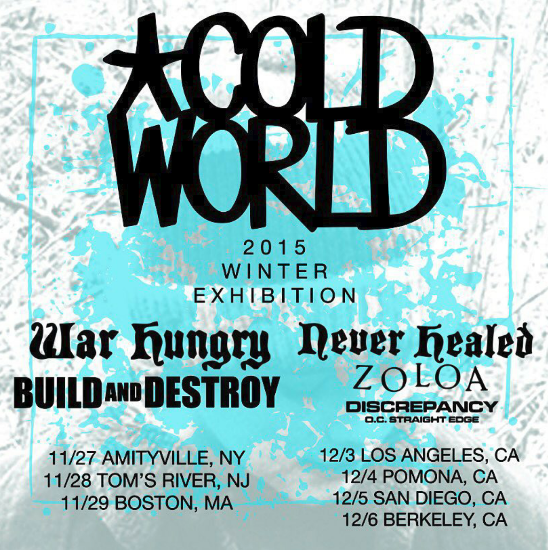 Cold World Tour 2015