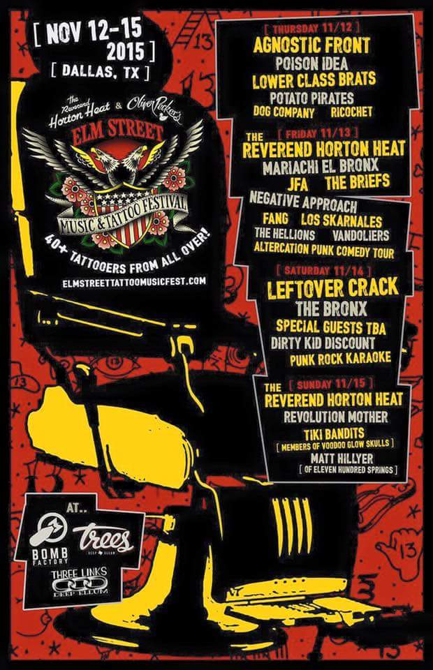 Elm Street Music & Tattoo Fest 2015