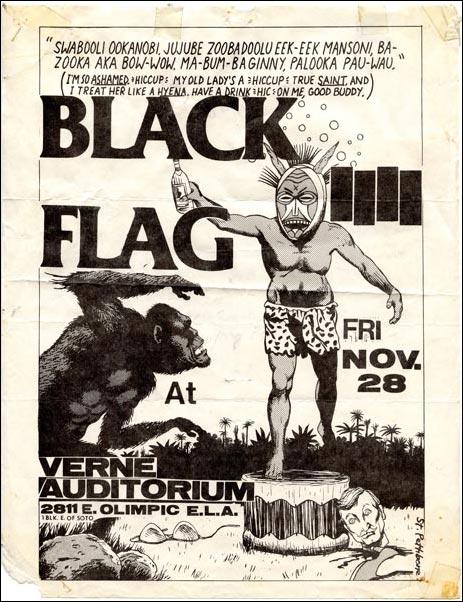 Black Flag @ Los Angeles CA 11-28-80