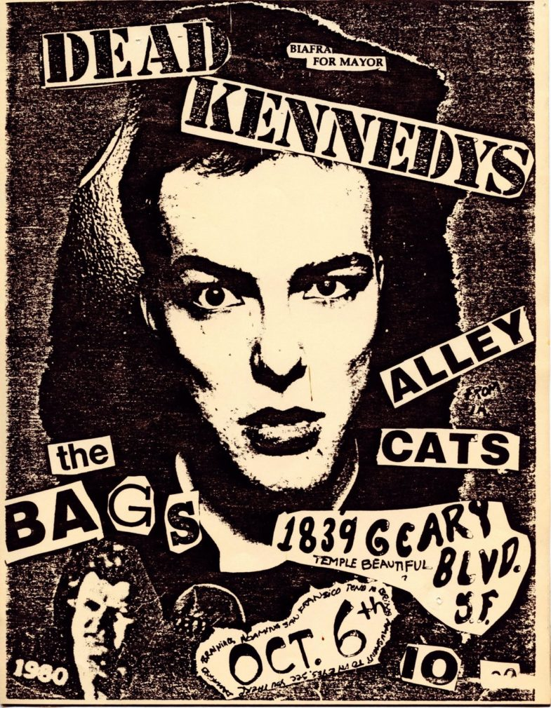 Dead Kennedys-Alley Cats-The Bags @ San Francisco CA 10-6-80