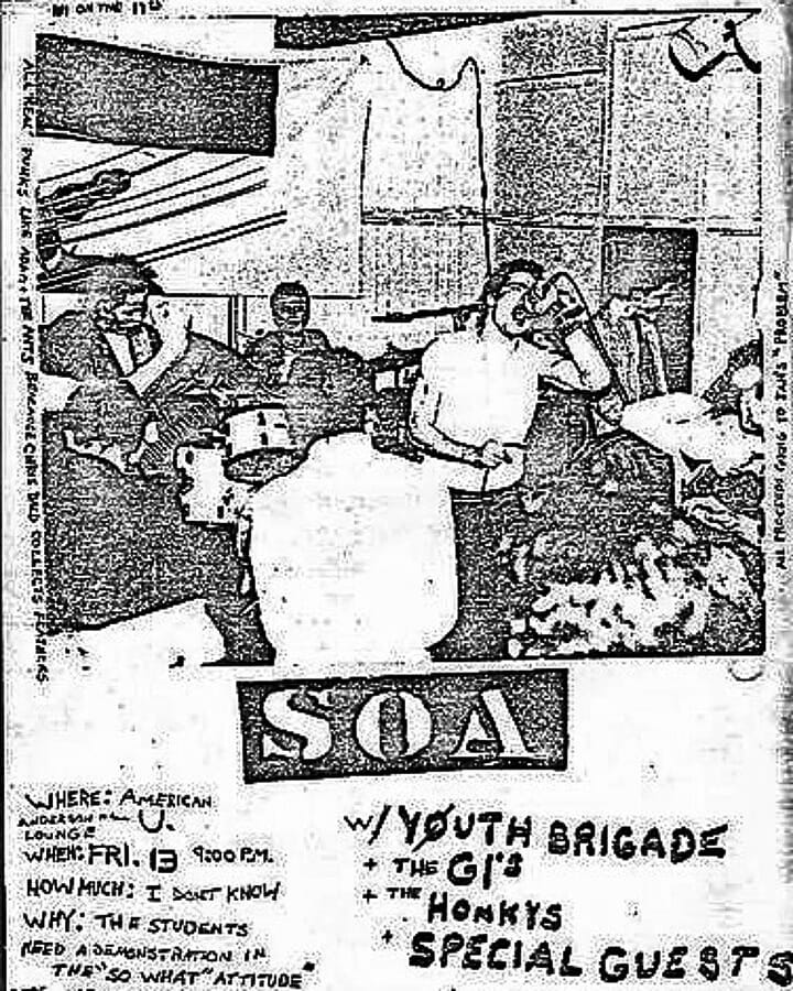 State Of Alert-Government Issue-Youth Brigade @ Washington DC