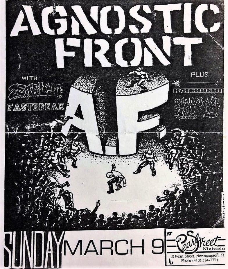 Agnostic Front-25 Ta Life-Fastbreak-Hatebreed @ Northampton MA 3-9-97