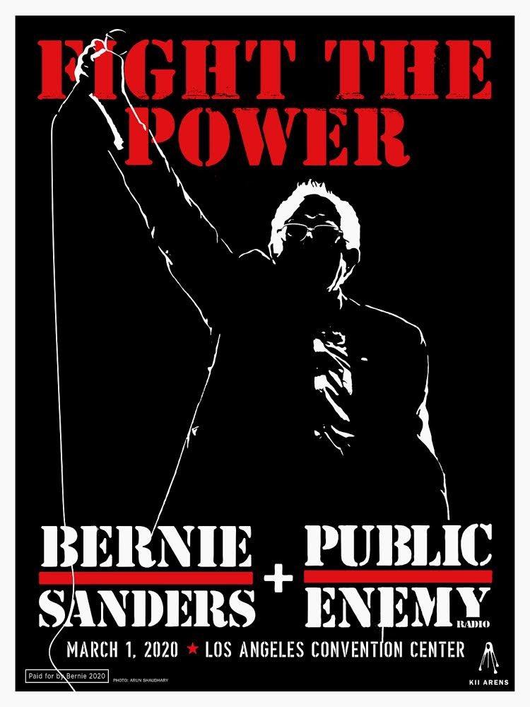 Bernie Sanders & Public Enemy 3-1-20