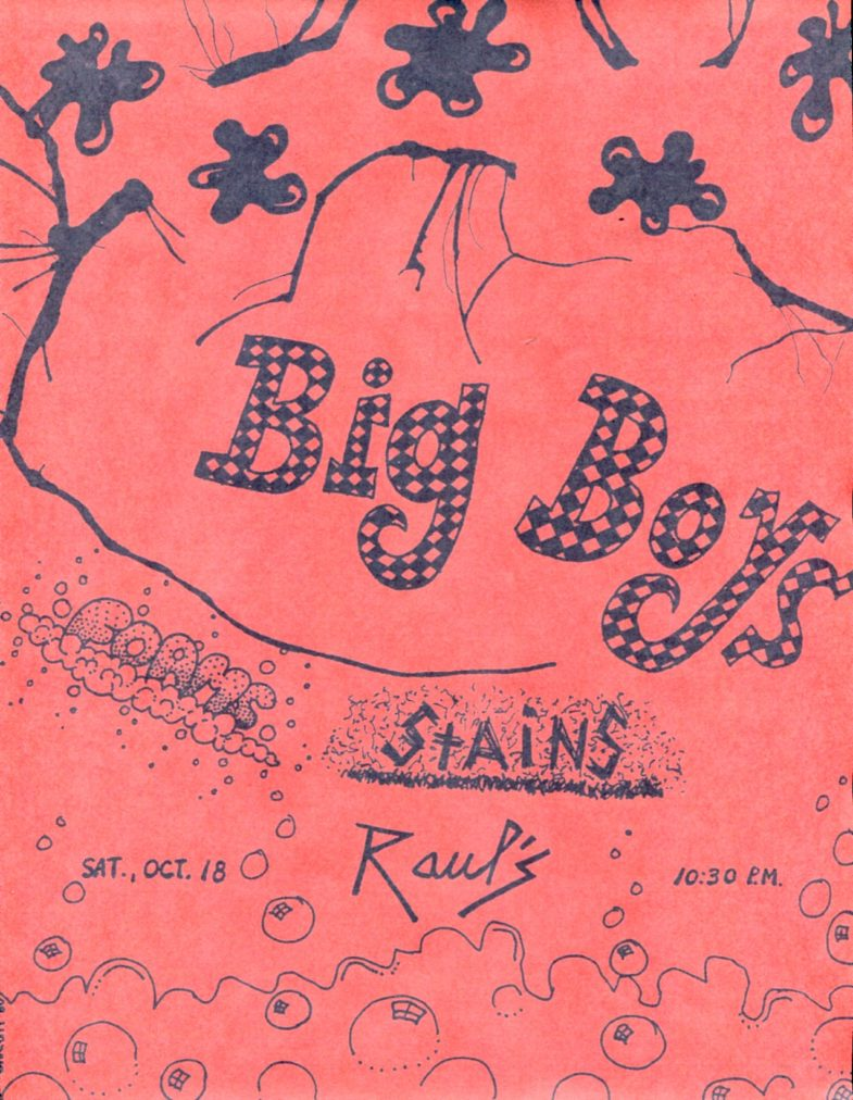 Big Boys-Foams-Stains @ Austin TX 10-18-80