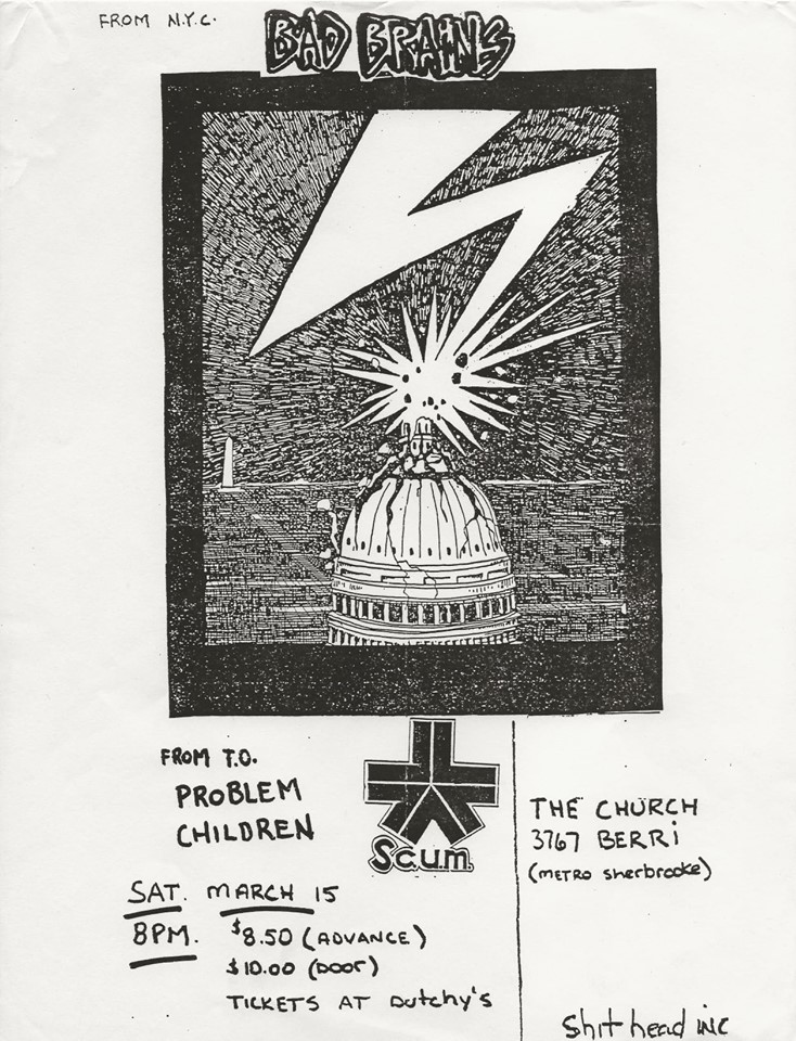 Bad Brains @ Washington DC 3-15-80