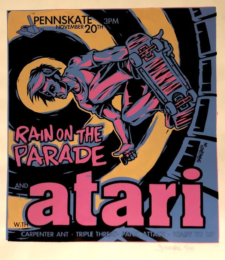 Rain On The Parade-Atari-Carpenter Ant-Triple Threat-Panic Attack-Ready To Rip @ Allentown PA 11-20-04