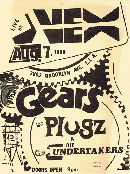 The Gears-The Plugz-Undertakers @ Los Angeles CA 8-7-80