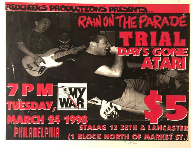 Rain On The Parade-Trial-Days Done-Atari @ Philadelphia PA 3-24-98