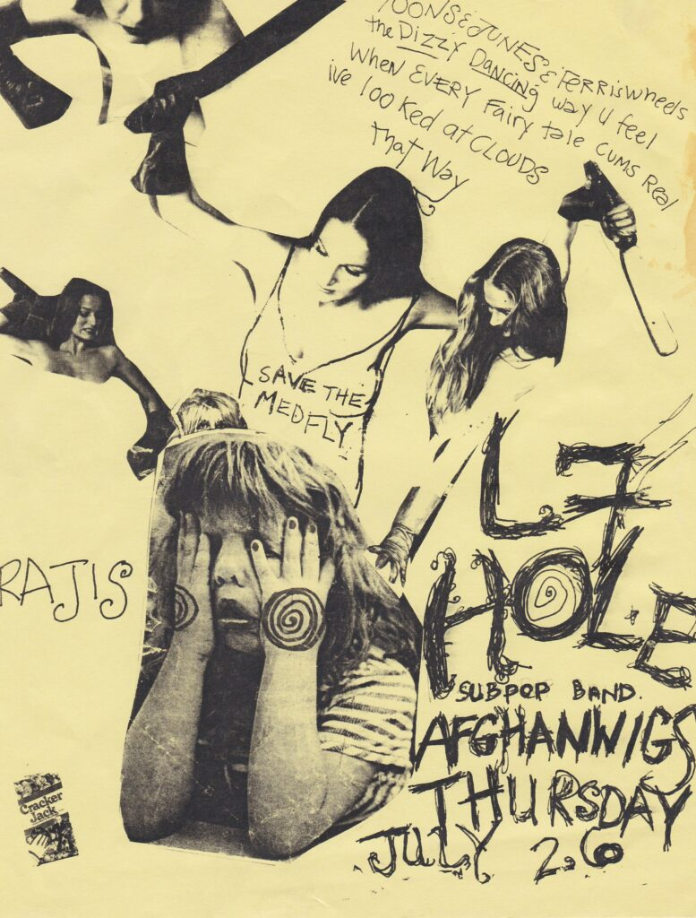 L7-Hole-Afghan Whigs @ Los Angles CA 7-26-90