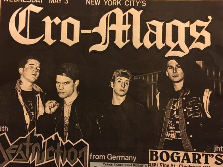 Cro Mags-Destruction @ Cincinnati OH 5-3-89