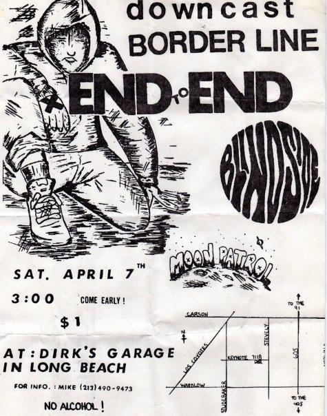 Downcast-Borderline-End To End-Blindside @ Long Beach CA 4-7-90