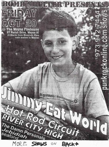 Jimmy Eat World-Hot Rod Circuit-River City High @ Wayne NJ 10-20-00