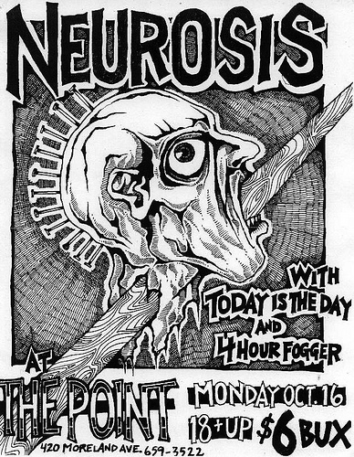 Neurosis-Today Is The Day-Four Hour Fogger @ Atlanta GA 10-16-00