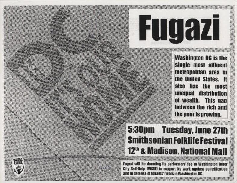 Fugazi @ Washington DC 6-27-00