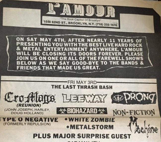 Final L'Amour Show 5-3-91