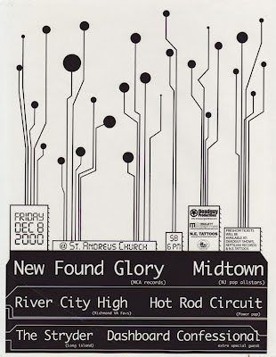 New Found Glory-Midtown-River City High-Hot Rod Circuit-The Stryder-Dashboard Confessional @ Washington DC 12-8-00