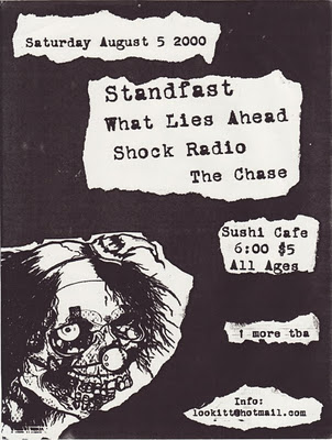 Standfast-What Lies Ahead-Shock Radio-The Chase @ Baltimore MD 8-5-00