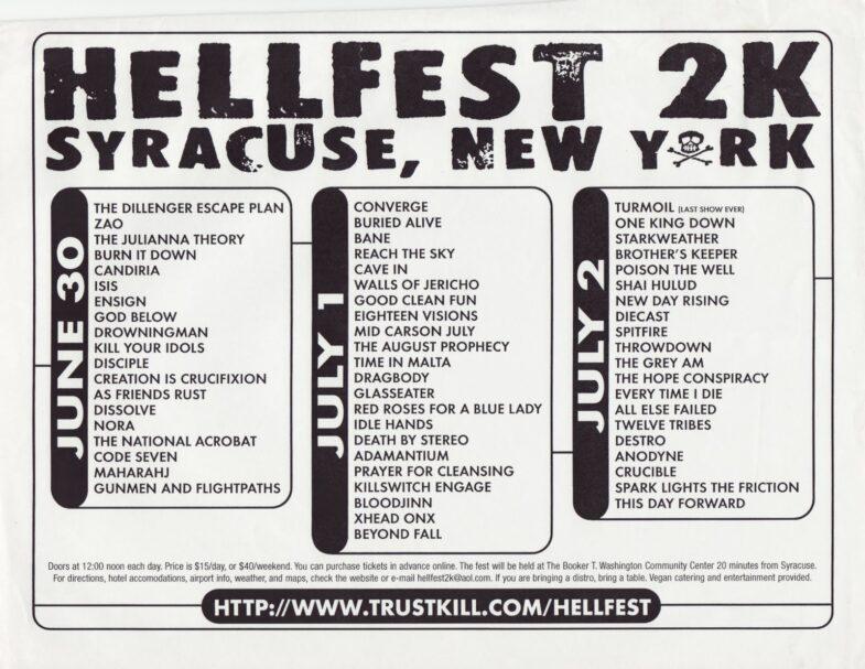 Hellfest 2000