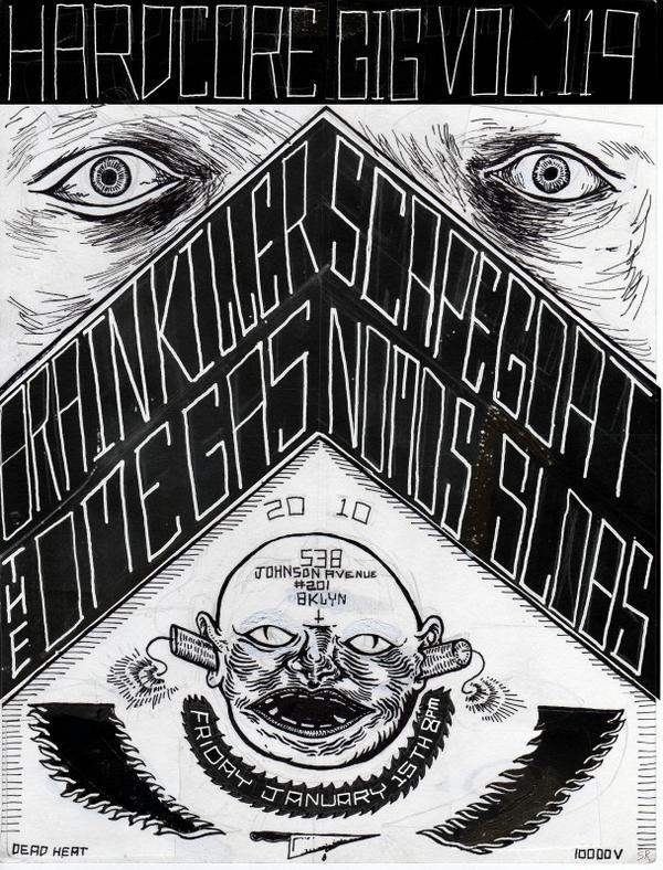 Brain Killer-Scapegoat-Omegas-Nomos-Slobs @ Brooklyn NY 1-15-10