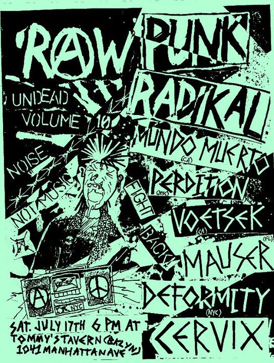 Mundo Muerto-Perdition-Voetsek-Mauser-Deformity-Cervix @ Brooklyn NY 7-17-10