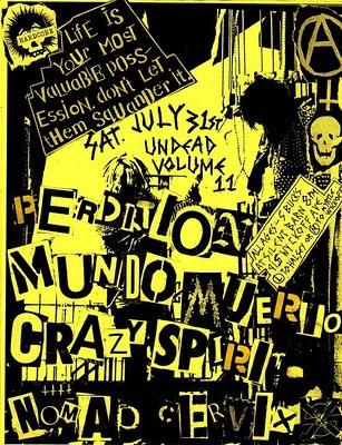 Perdition-Munio Uerio-Crazy Spirit-Nomad-Crevix @ Brooklyn NY 7-31-10