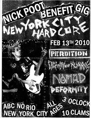 Perdition-Nomad-Deformity @ New York City NY 2-13-10