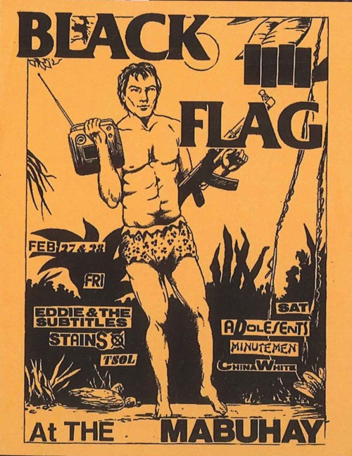 Black Flag-Eddie & The Subtitles-Stains-TSOL @ San Francisco CA 2-27-81