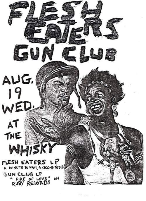 Flesh Eaters-The Gun Club @ Hollywood CA 8-19-81