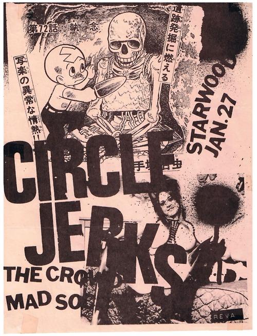 Circle Jerks-The Crowd-Mad Society @ Hollywood CA 1-27-81