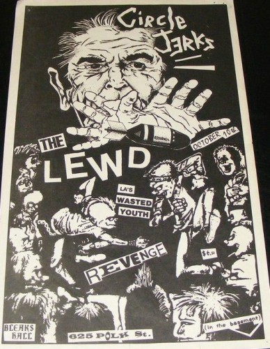 Circle Jerks-The Lewd-Wasted Youth @ 10-10-81