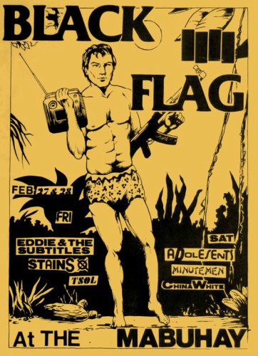 Black Flag-Eddie & The Subtitles-Stains-TSOL @ San Francisco CA 2-17-81