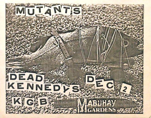 Dead Kennedys-KGB-Mutants @ San Francisco CA 12-2-81
