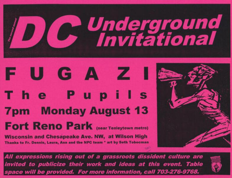 Fugazi-The Pupils @ Washington DC 8-13-01